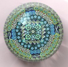 Millefiori paperweights are like captivating kaleidoscopes