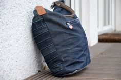 Tasche komplett aus upgecycletem Material nach eigenem Schnitt / Bag completely upcycled plus own sewing pattern / Upcycling