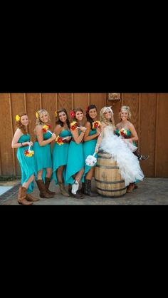 Country wedding: