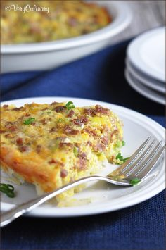 Hashbrown-Crusted Quiche with Sausage. Yes, hashbrown crust and it's so delicious and super easy!
