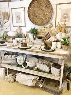 Gift Shop Displays, Market Displays, Booth Displays, Vintage Booth Display, Vintage Store Displays, Vintage Farmhouse, Farmhouse Style, Farmhouse Decor, Vintage Market Days