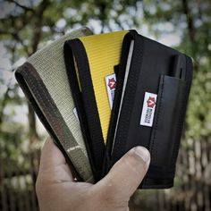 """""""The First Responder"""" is a @riteintherain notebook cover designed for....well obviously FIRST RESPONDERS. haha it gives you quick and easy access to your top spiral notebook while keeping it protected.  #EveryDayCarry #EDC #Hardwork #USA #America #PocketDump #Wallet #Recycled #MadeInTheUsa #RecycledFirefighter #riteintherain"""