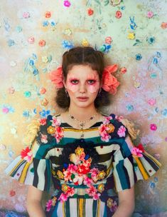 Ruven Afanador, town-and-country-floral-editorial