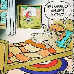 Bu Bayram Da Gelmedi Karikatürü Vacip Örger