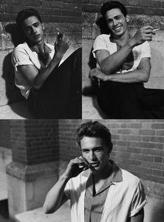 Aunque fume, y el cigarro se vea atractivo en su boca, prefiero tenerlo lejos.  -ugh james don't smoke!
