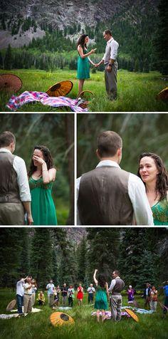 Rustic Picnic Wedding   Durango Weddings Magazine Blog