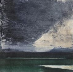 Ørnulf Opdahl Ocean Artwork, Acrylic Artwork, Seascape Paintings, Landscape Paintings, Abstract Landscape, Abstract Art, Dark Mountains, Alternative Art, Sky And Clouds