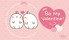 Molang in love <3