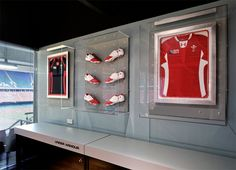 interior design for sports memorabilia retail stores - Google Search