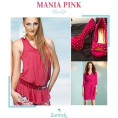 Deixe os seus dias mais intensos nesse verão! Aposte no pink com um dos lançamentos da Zunnck.com!