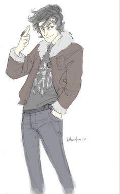 Nico di Angelo I love nico even if he does like Percy!!
