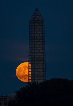 2013 Supermoon (201306230001HQ) | Flickr - Photo Sharing! A great pic from photographer Bill Ingalls.