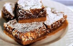 "Graham Cracker Bars #thekitchn ""Each bar is like a mini pecan pie over a graham cracker crust"""
