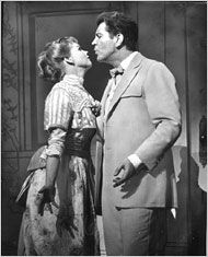 "Barbara Cook and Robert Preston in ""The Music Man"""
