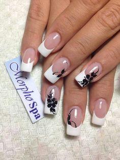 99 pretty nail polish ideas for women - dip nail colors - . - 99 pretty nail polish ideas for women – dip nail colors – # pretty In - French Nail Art, French Nail Designs, French Tip Nails, Nail Art Designs, French Tips, Nails Design, Fabulous Nails, Perfect Nails, Stylish Nails