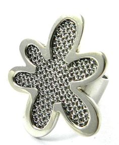 fashion charm flower design 925 silver party wear adjustable women ring jewelry #Magicalcollection #Cocktail