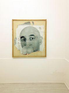 Theca Gallery, Carlo Buzzi, Gomma, gruppo di manifesti strappati, 134x121cm., 1998, Milano