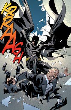 Batman pays Falcone a visit! Batman Eternal - gotham-at-nightfall Batman Vs Superman, Batman Love, Batman Comic Art, Batman Beyond, Marvel Dc Comics, Bob Kane, Ultimate Batman, Batman Eternal, Batman Universe
