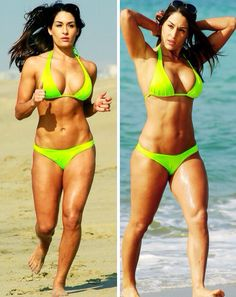 Nikki Bella - my fitness goal...i could do it!