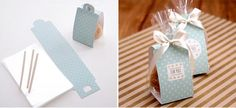 Blue Polka dot Cake&Cookie bag set, Gift Package bag 100set/lot-in Packaging Bags from Industry & Business on Aliexpress.com | Alibaba Group