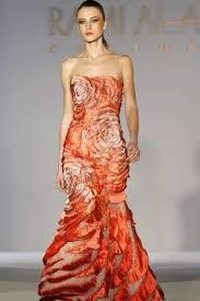 A model displays a creation by Syrian designer Rami Al Ali during his Rome Fashion Week Haute Couture Spring/Summer 2009 show. Rome Fashion, Rami Al Ali, Strapless Dress Formal, Formal Dresses, Dress Up, Glamour, Model, Clothes, Design
