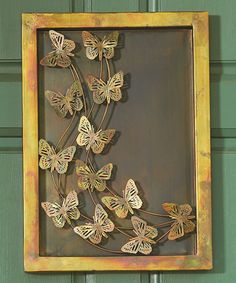 Look what I found on #zulily! Butterflies Shadow Box Wall Hanging #zulilyfinds