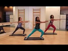 Barre Fitness | Butt Workout | Power Butt Moves - YouTube