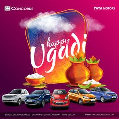 May this Ugadi bring in new hopes and a fresh spirit that lasts the whole year and more. Concorde Motors wishes you and your family a very Happy Ugadi!  #ConcordeMotors #TataMotors #HappyUgadi #Ugadi2017