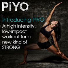 Love this workout!! I can't wait until it's available on DVD versus just the gym!! http://soreyfitness.com/fitness/piyo-workout-chalene-johnson/