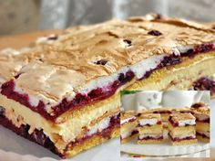 Romanian Desserts, Russian Desserts, Russian Recipes, Baking Recipes, Cake Recipes, Dessert Recipes, No Bake Desserts, Just Desserts, Breakfast Cake