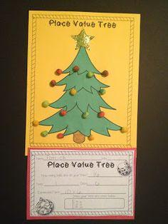 Place Value Tree Freebie