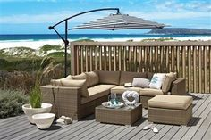 Lighthouse collection - does the view come with this? Outdoor Furniture Sets, Outdoor Decor, Next At Home, Lighthouses, Well Dressed, Backyard Ideas, Home Furnishings, Beaches, My House