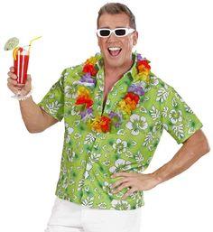 Comprar Camisa Hawaiana Green. El Verano ya está aquí y con el las fiestas de hawaianas. Por eso en disfracestuyyo.com disponemos de un amplio surtido de complementos y disfraces para que no te falte de nada en tu fiesta Hawaiana.