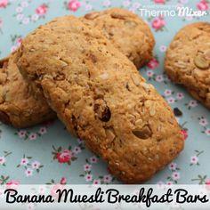 Banana Muesli Breakfast Bars – The Road to Loving My Thermo Mixer