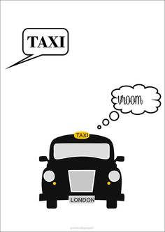 Poster London Taxi