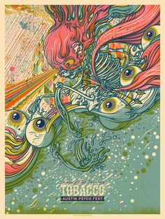 Tobacco - By Drew Millward for Austin Psych Fest