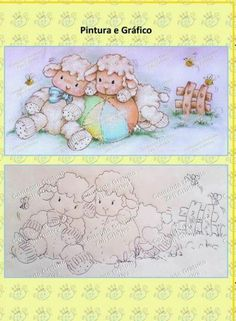 Fabric Painting, Painting & Drawing, Coloring Books, Coloring Pages, Applique Templates, Country Paintings, Coloured Pencils, Baby Art, Digi Stamps