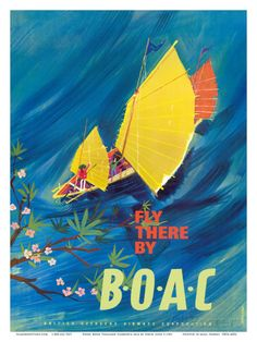 The Orient - Fly There By BOAC - Hong Kong, Thailand, Cambodia by David Judd.