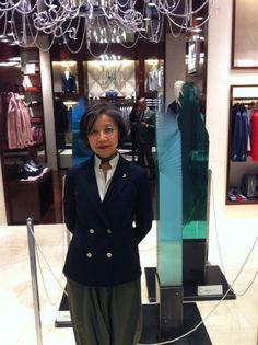 Oki Izumi @Tombolini boutique during Milan Design Week