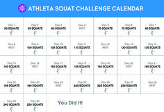 30-Day Squat Challenge! Who's with us?