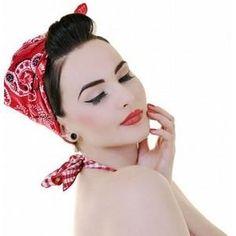 pin up style | Pin-Up Style: Headband tutorial | FASHION streets