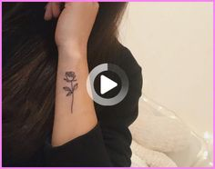 Forearm Tattoos 63618 Floral Forearm Tattoo Ideas #forearmtattoo Simple Girl Tattoos, Simple Forearm Tattoos, Rose Tattoos On Wrist, Wrist Tattoos For Women, Finger Tattoos, Cute Tattoos, Unique Tattoos, Awesome Tattoos, Tatoos