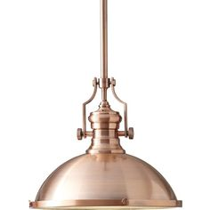 Constructed of steel with an antique copper finish, this sleek one-light style features a brasserie design that feels right at home in both modern and classic spaces.
