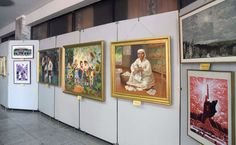 중앙미술창작사창립 30돐 미술전시회 개막