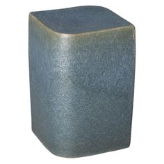 This Aero ceramic garden stool with a Pearl Azure glaze is the perfect touch to any indoor or outdoor space. It can be used as a small side table, an extra-seat or as a planter pedestal. This collection offers the best combination of design and glazes. Ceramic Stool, Ceramic Garden Stools, Ceramic Table, Color Glaze, Garden Seating, The Perfect Touch, Wood Species, Types Of Wood, Color Mixing