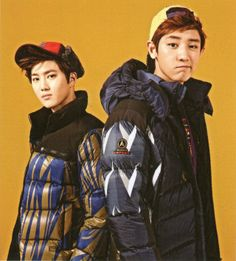 Suho and Chanyeol - InStyle Magazine November Issue