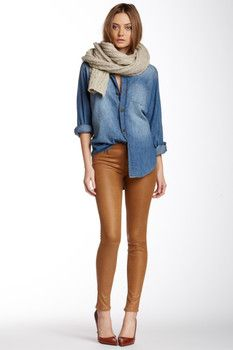 7 For All Mankind 7 For All Mankind Knee Seam Skinny Jean