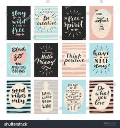 New craft quotes printables planner stickers Ideas Printable Planner Stickers, Journal Stickers, Free Printables, Free Printable Quotes, Craft Quotes, Good Morning Wishes, Happy Planner, Planner Organization, Planner Dividers