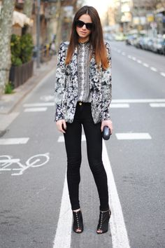 *Styling Note This outfit but with a pair of ankle boots or trainers for a more effortless look