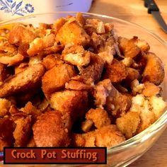 Crock Pot Stuffing http://www.momspantrykitchen.com/crock-pot-stuffing.html